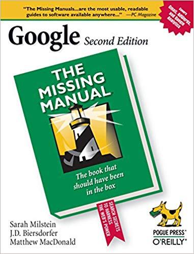 کتاب «گوگل: راهنمای گمشده» Google The Missing Manual