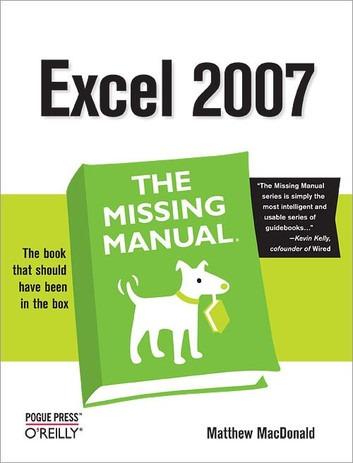 کتاب «دستورالعمل گمشده اکسل 2007» Excel 2007: The Missing Manual