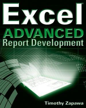 کتاب «تولید گزارش های پیشرفته در اکسل» Excel Advanced Report Development