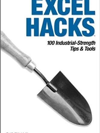 کتاب «ترفندها و ابزارهای قدرتمند اکسل» Excel Hacks: 100 Industrial-Strength Tips & Tools