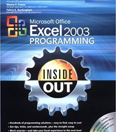 کتاب «برنامه نویسی کامل اکسل 2003» Microsoft Office Excel 2003 Programming Inside Out