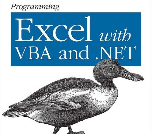 کتاب «برنامه نویسی اکسل با VBA و دات نت» Programming Excel with VBA and .NET: Solve Real-World Problems with Excel