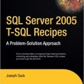 کتاب SQL Server 2005 T-SQL Recipes: A Problem-Solution Approach