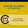 کتاب «جبر خطی و کاربردهای آن» Linear Algebra with Applications