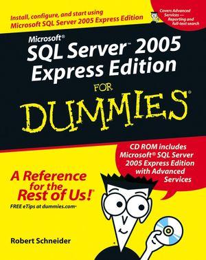 کتاب Microsoft SQL Server 2005 Express Edition For Dummies