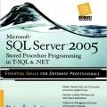 کتاب Microsoft SQL Server 2005 Stored Procedure Programming in T-SQL & .NET